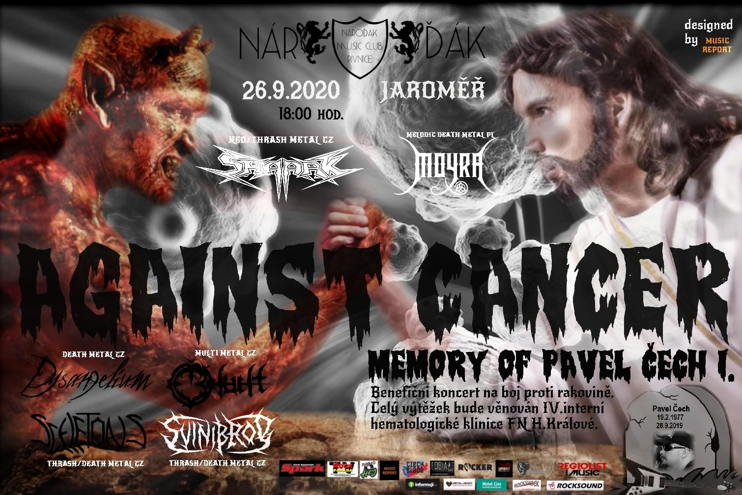 AGAINST CANCER — MEMORY OF PAVEL ČECH vol.1