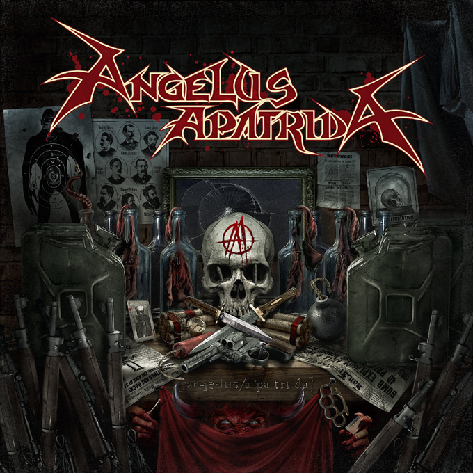 "ANGELUS APATRIDA --- KLIP DO UTWORU ""BLEED THE CROWN"""