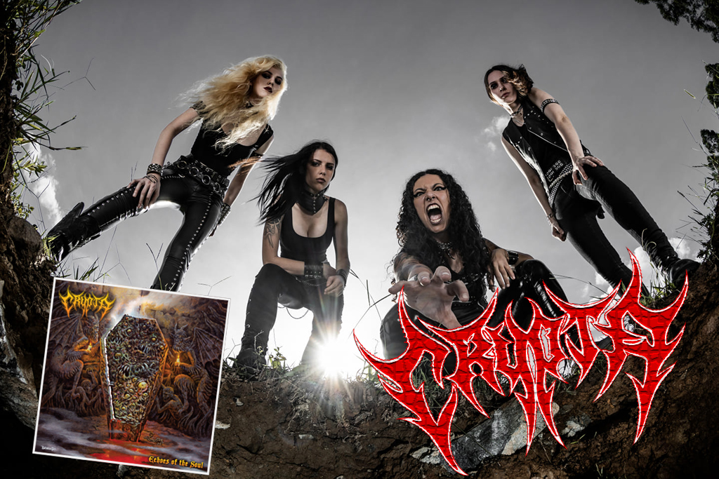 """CRYPTA — ALBUM """"ECHOES OF THE SOUL"""" WYDANY!"""